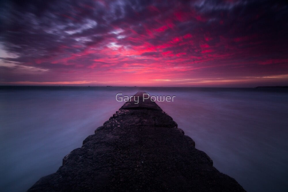 St Clement sky fire by Gary Power