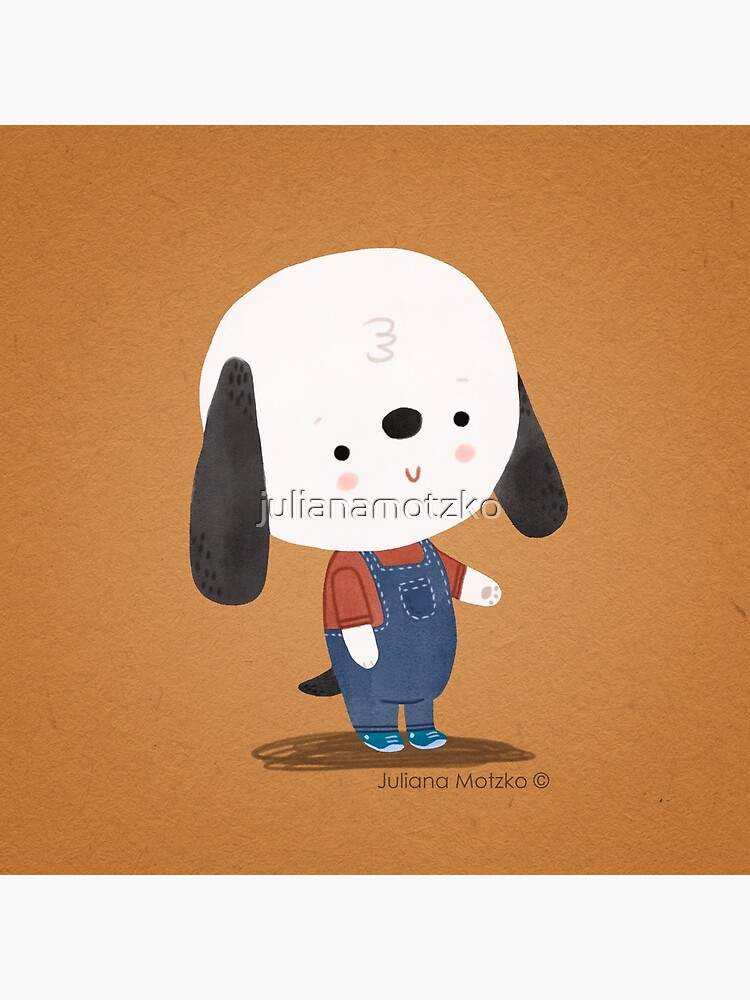 Ted The Dog by julianamotzko