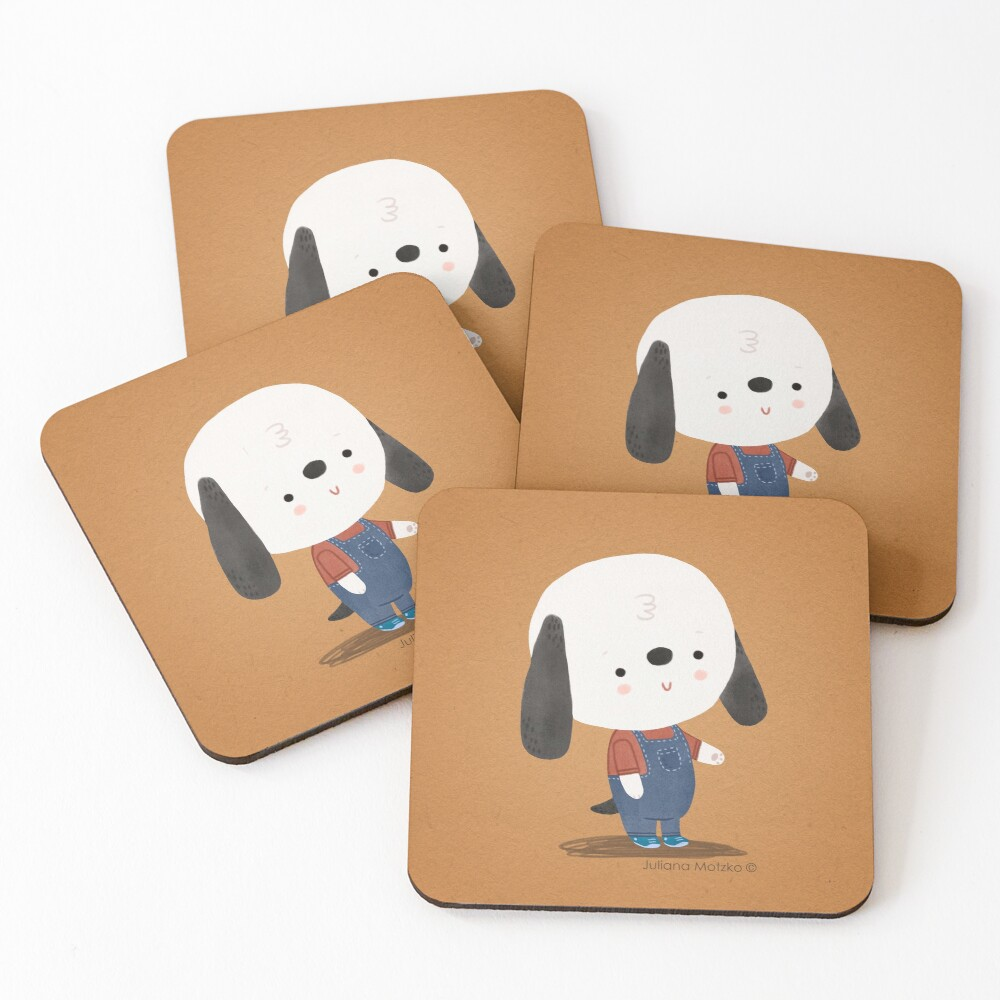 Ted The Dog Coasters (Set of 4)