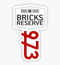 'Bricks Reserve' Sticker