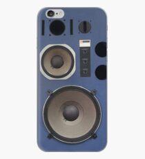 vintage hifi speaker front iPhone Case