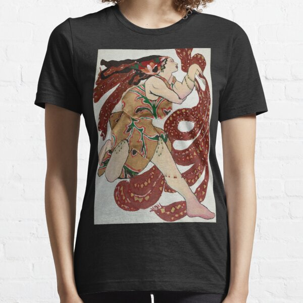 Russian dancer with scarves- 3D fabric and beads Essential T-Shirt