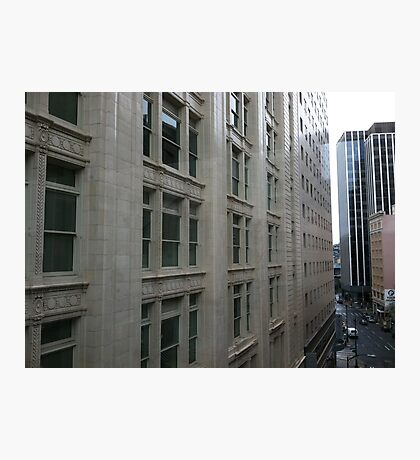 Downtown Seattle Scene Photographic Print