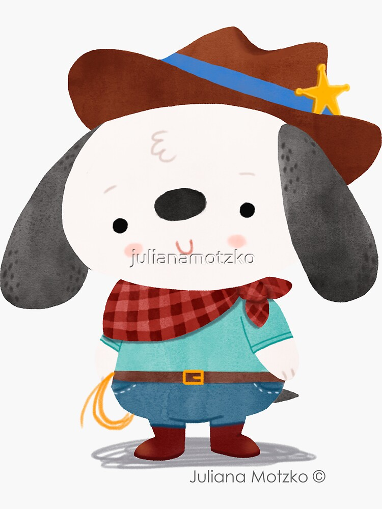 Ted The Dog Sheriff by julianamotzko