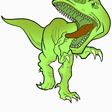 T-REX T-SHIRT green by parko