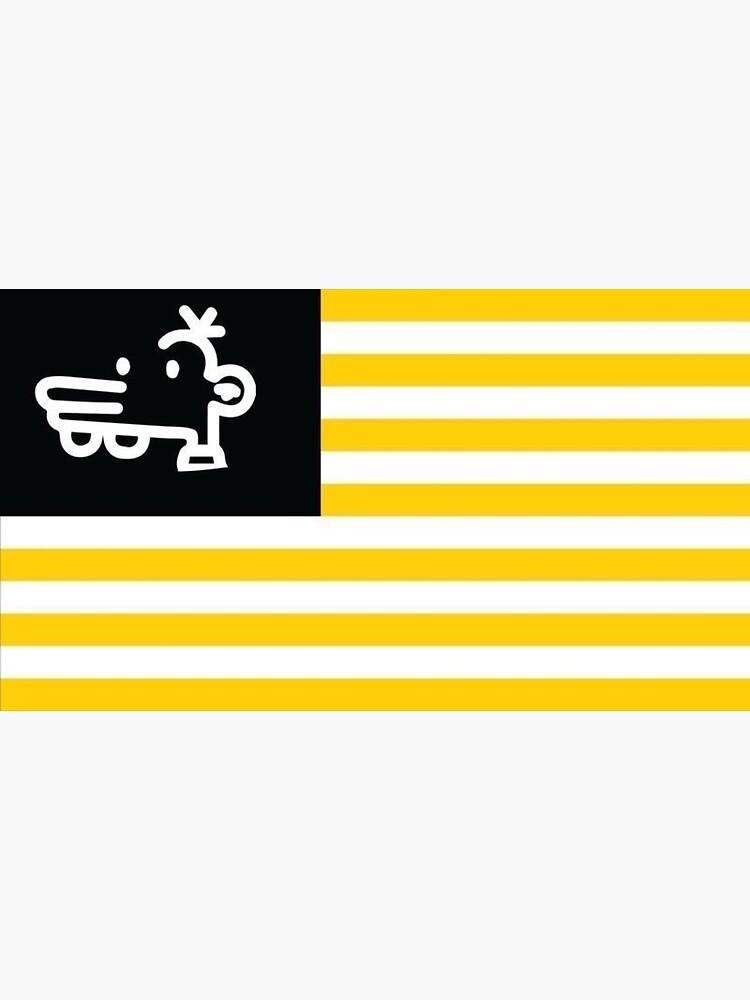 Manny Heffley Flag Gen Z American Tiktok  by TFitzyyy
