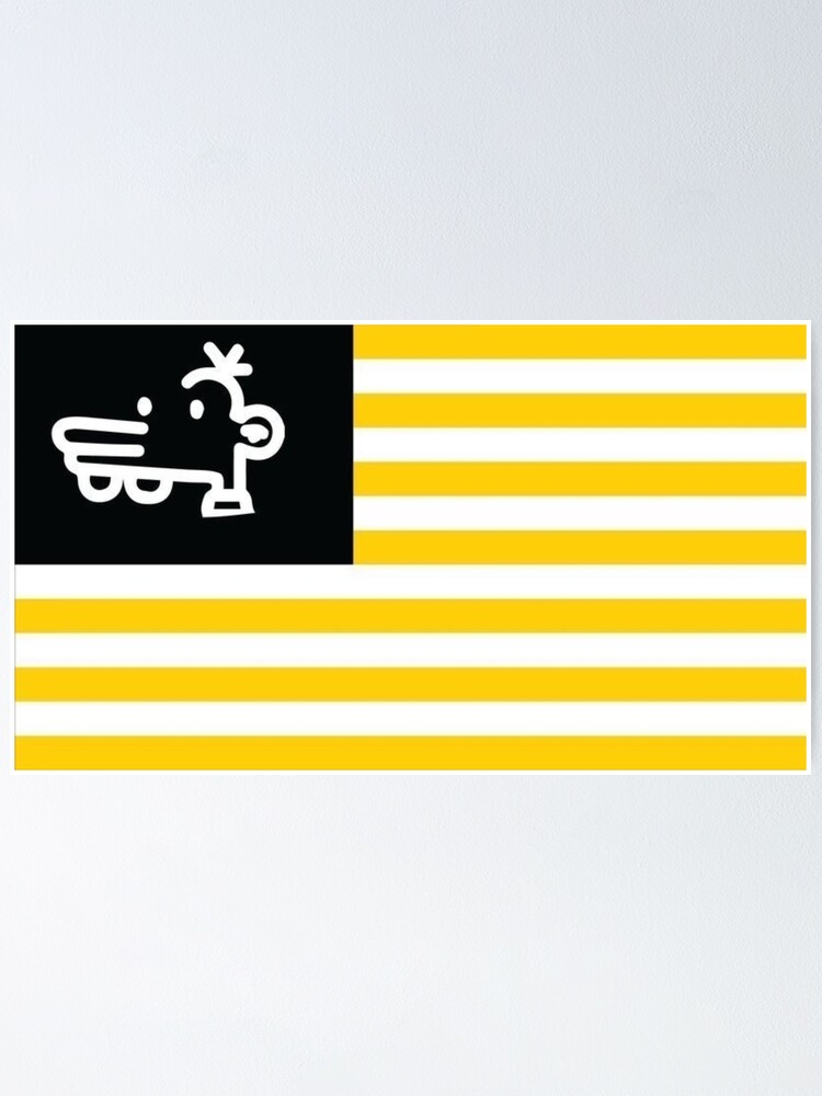 Alternate view of Manny Heffley Flag Gen Z American Tiktok  Poster