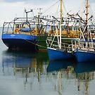 Irish Fishing Boats by Fara