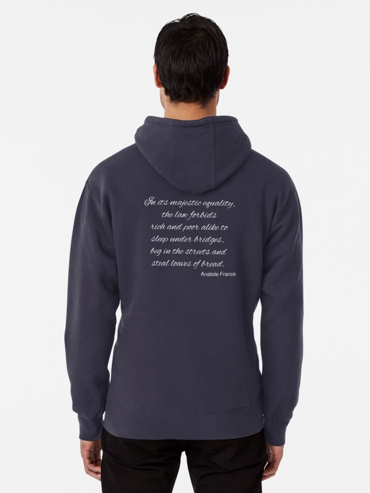 Alternate view of The Majestic Equality of the Law Pullover Hoodie