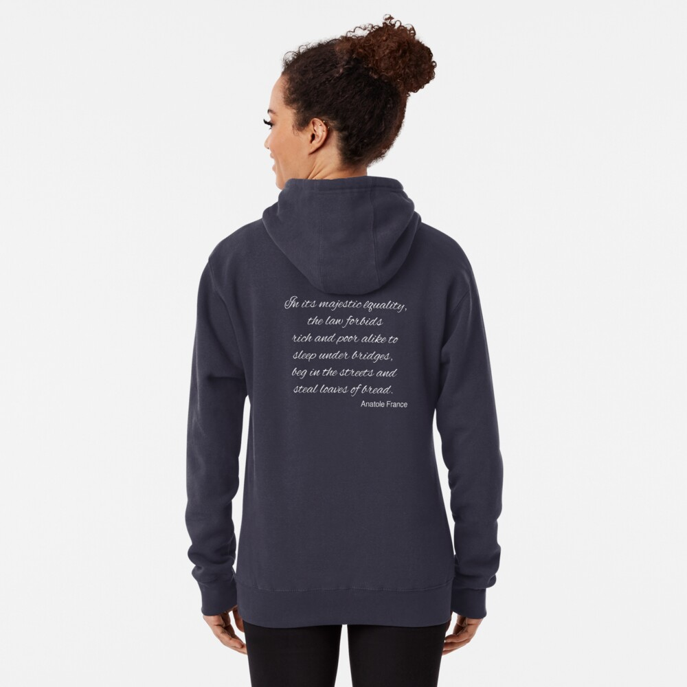 The Majestic Equality of the Law Pullover Hoodie