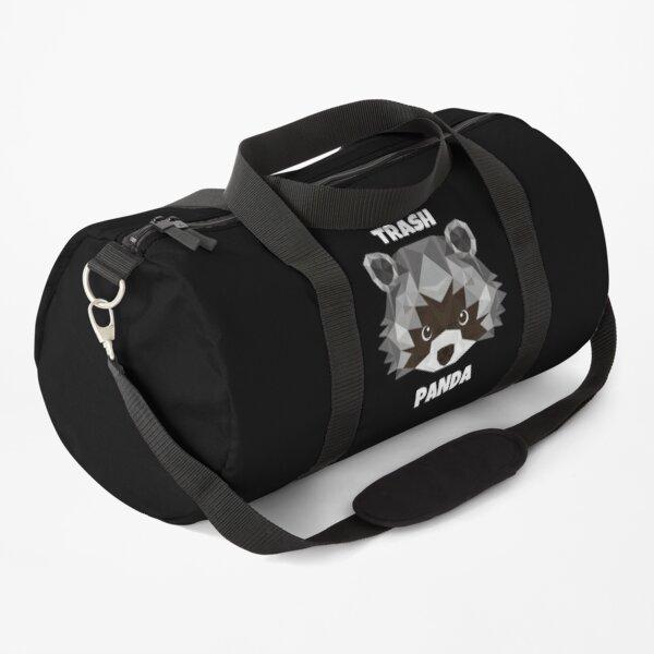Trash Panda cute funny panda of the Galaxy raccoon mask, corona mask Duffle Bag