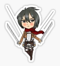Mikasa Ackerman Sticker