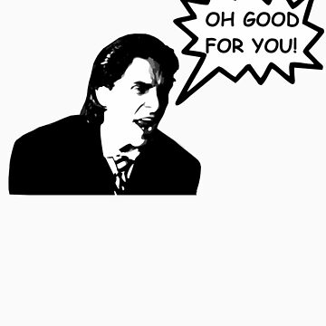 'Oh Good for You!' Christian Bale Design by CoolFRI