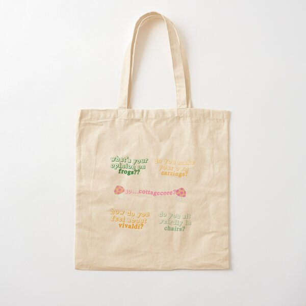 wlw code sticker pack  Cotton Tote Bag