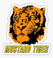 Mustard Tiger Sticker