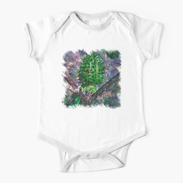 The Atlas of Dreams - Color Plate 120 Short Sleeve Baby One-Piece