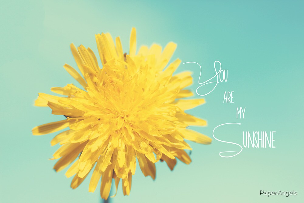 You are my Sunshine by PaperAngels