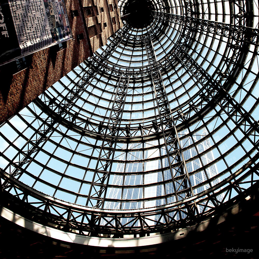 Old Tower - Inside City Central  Melbourne by bekyimage
