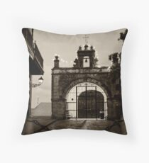 Small Chapel of San Juan Throw Pillow