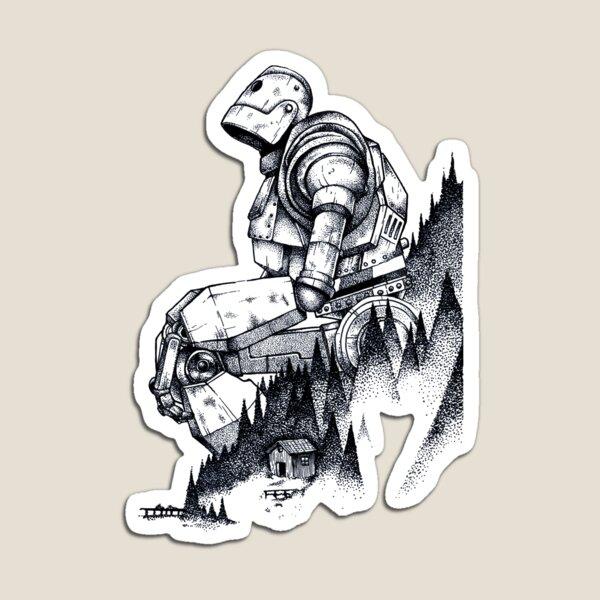 Iron Giant Magnet