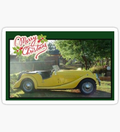 Merry Christmas! (Morgan) Sticker