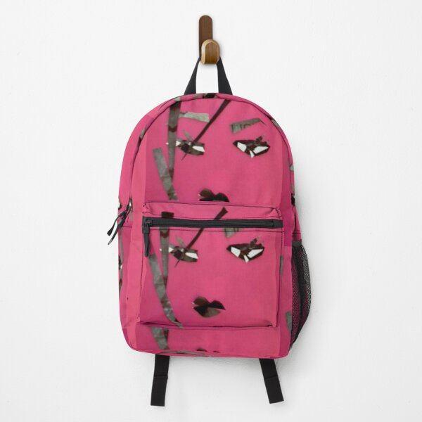 Art portrait of woman in pink - original art wall art in modern style Backpack