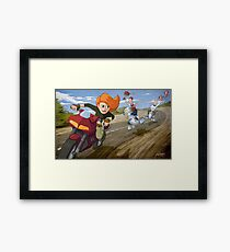 Kim Possible: Reluctant Valentine Framed Print