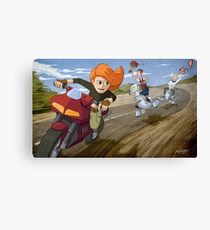 Kim Possible: Reluctant Valentine Canvas Print