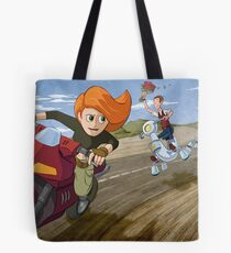 Kim Possible: Reluctant Valentine Tote Bag