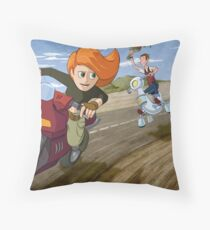 Kim Possible: Reluctant Valentine Throw Pillow