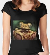 Wild nature - reptile #3 Women's Fitted Scoop T-Shirt