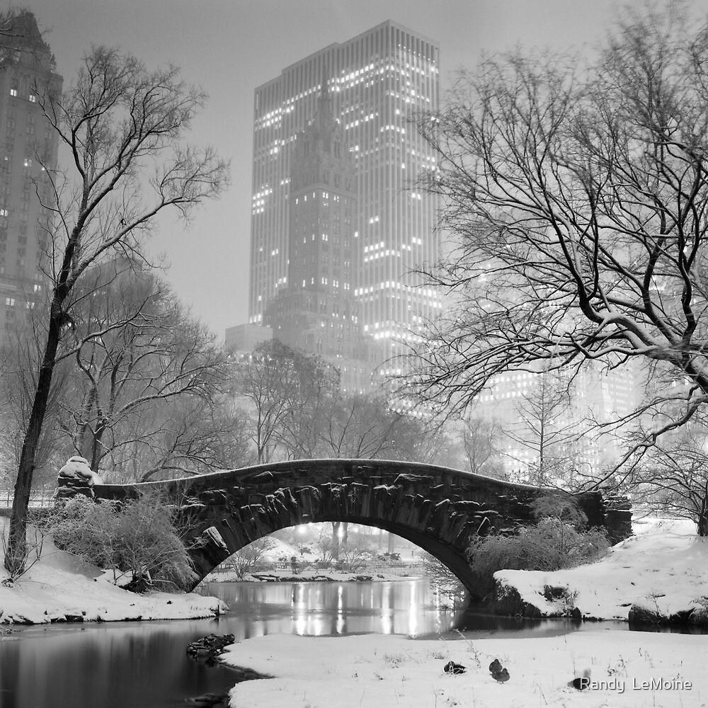 Gapstow Bridge, Study 2 by Randy  LeMoine