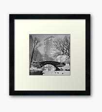 Gapstow Bridge, Study 2 Framed Print