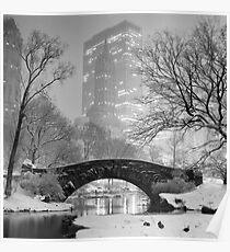 Gapstow Bridge, Study 2 Poster
