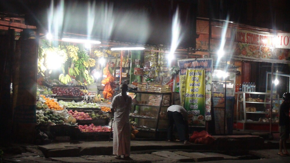 Night fruit shop by rani
