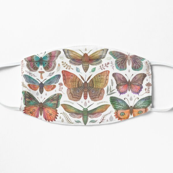 Butterflies and Moths collection Mask