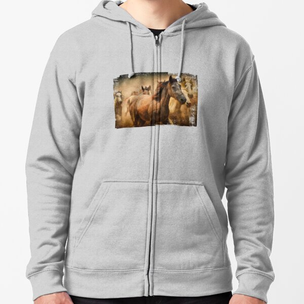 Snow Kings  Clydesdales Horse   Hooded Sweatshirt  Sizes//Colors