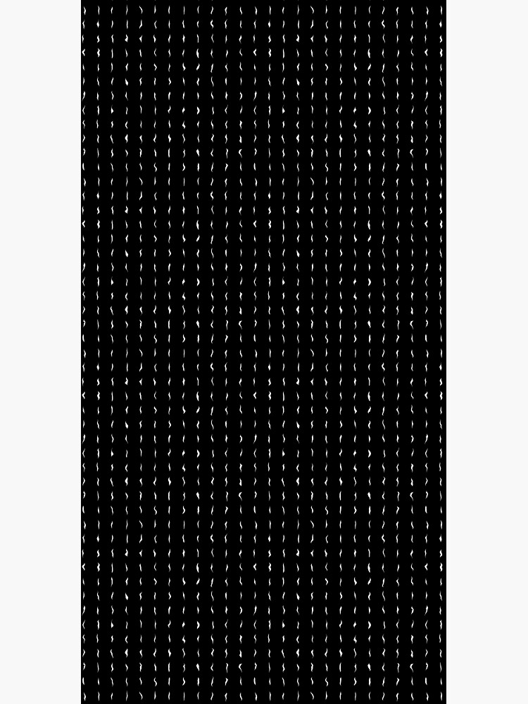 Minimalist Black and White Abstract Texture by RootSquare
