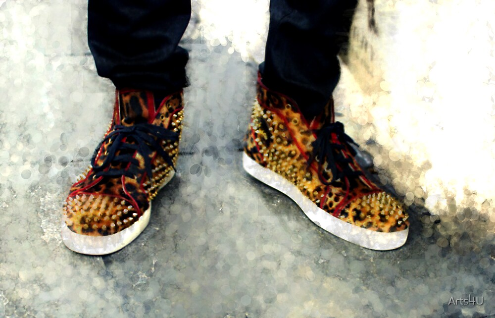 Street Sneakers by Arts4U