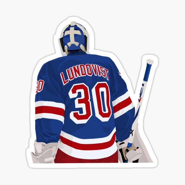 Henrik Lundqvist 30 Sticker