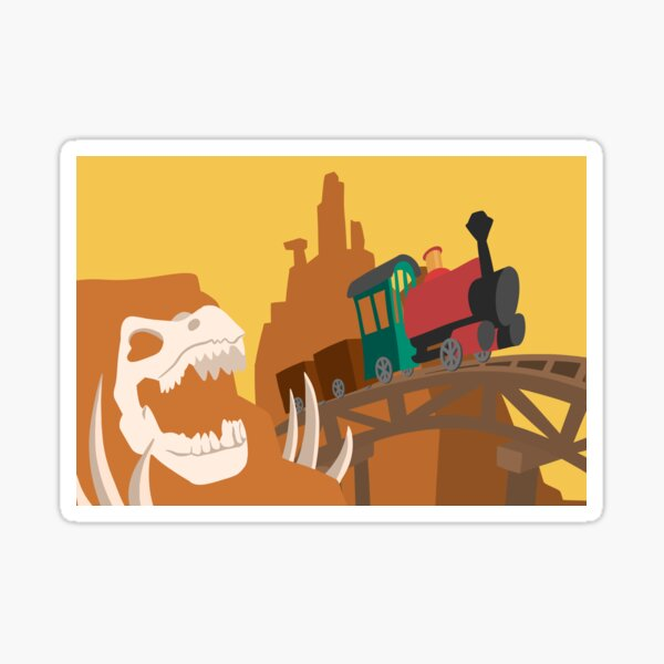 Wildest Ride In The Wilderness Sticker