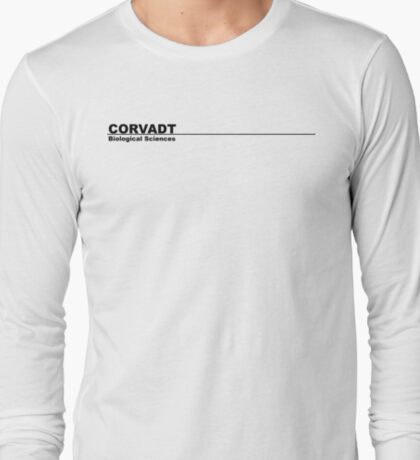 Corvadt Biological Sciences - Utopia (black) T-Shirt