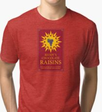 Reddy's Chocolate Raisins - Utopia Tri-blend T-Shirt