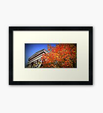 Macclesfield Framed Print