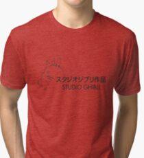 STUDIO GIBLI - TOTORO (HD) Tri-blend T-Shirt