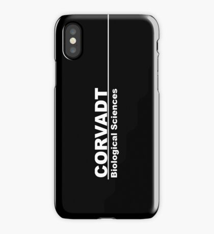 Corvadt Biological Sciences - Utopia iPhone Case/Skin