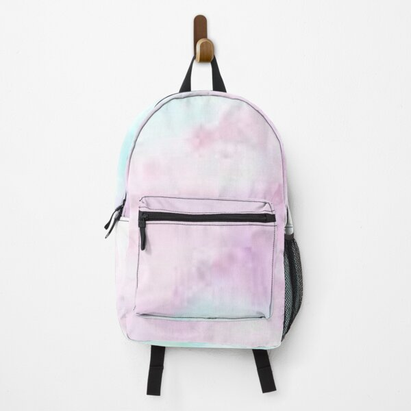 PINK GREEN ABSTRACT WATERCOLOR  Backpack