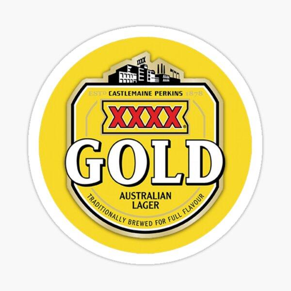 XXXX Gold Logo Sticker