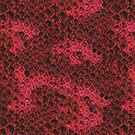 Hot Pink and Black Snake Skin by pjwuebker