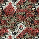 Red and Black Coral Snake Skin by pjwuebker